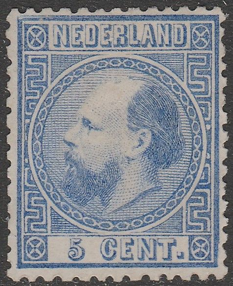 Netherlands 1867 - King William III - NVPH 7