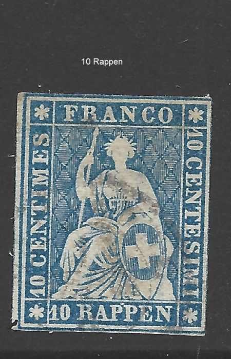 Switzerland 1852/1964 - collection