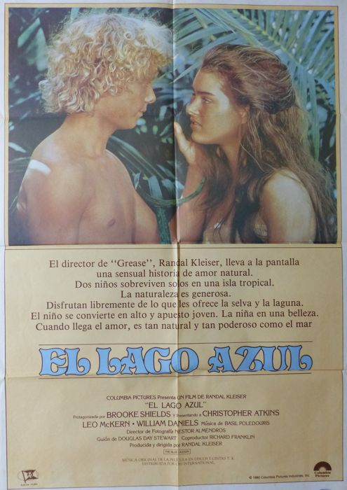 The Blue Lagoon (Brooke Shields, Christopher Atkins) - 1980