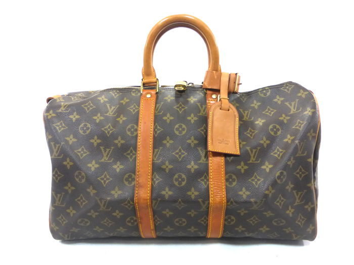 Louis Vuitton - Keepall 45 Monogram Reistas - Vintage