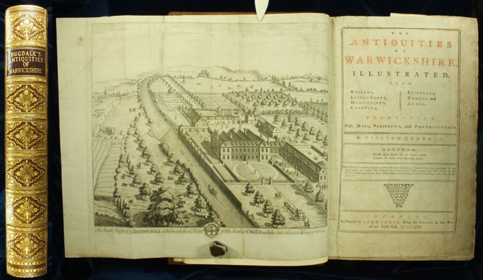 William Dugdale - The Antiquities of Warwickshire Illustrated - 1765
