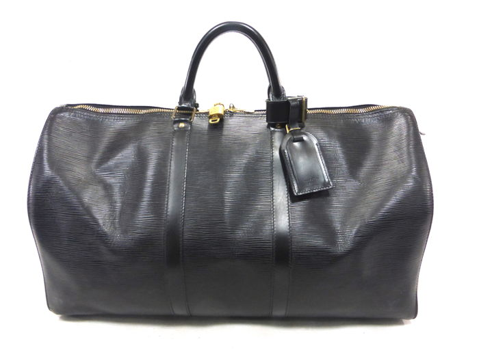 Louis Vuitton - Keepall 50 Cuir Epi Noir Reistas