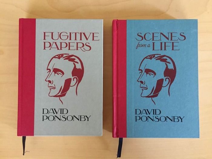 David Ponsonby - Fugitive Papers & Scenes of a lifetime - 2012/2013