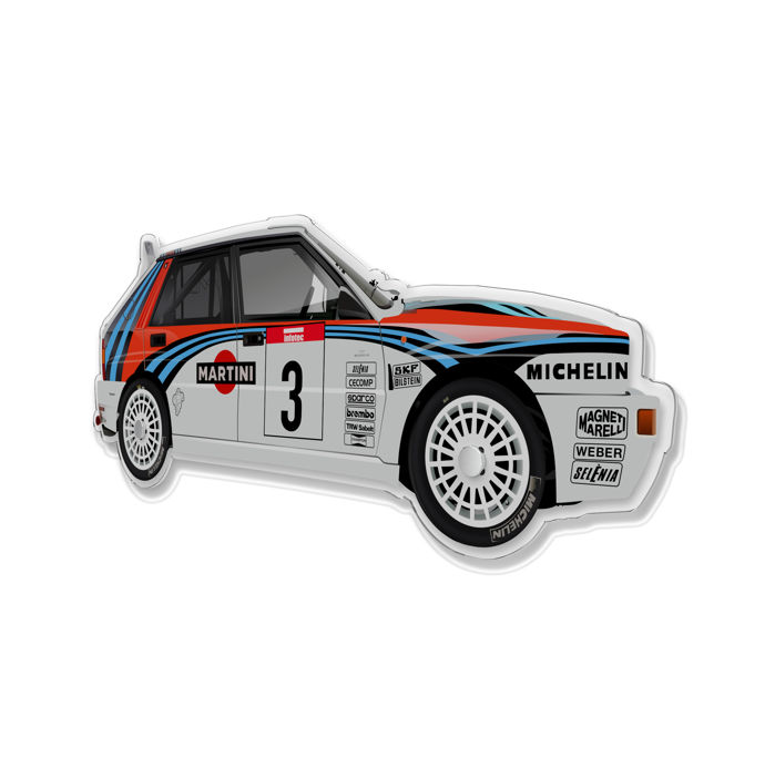 Decoratief object - SL-Halmo Collection Lancia Delta Integrale Rally