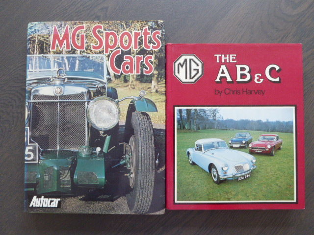 Books - MG Sports Cars and MG The AB&C
