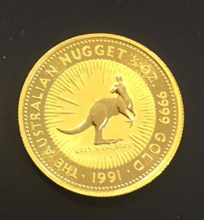 Australie - 50 Dollar 1991 Elizabeth II - 1/2 OZ .999 - Or
