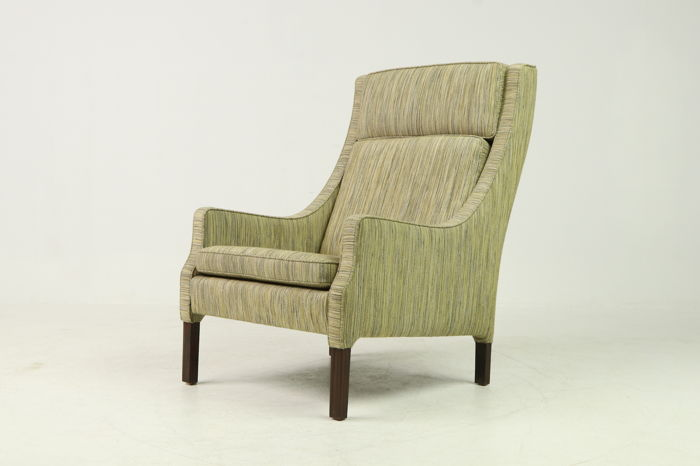 Danish furniture manufacturer - armchair with high back