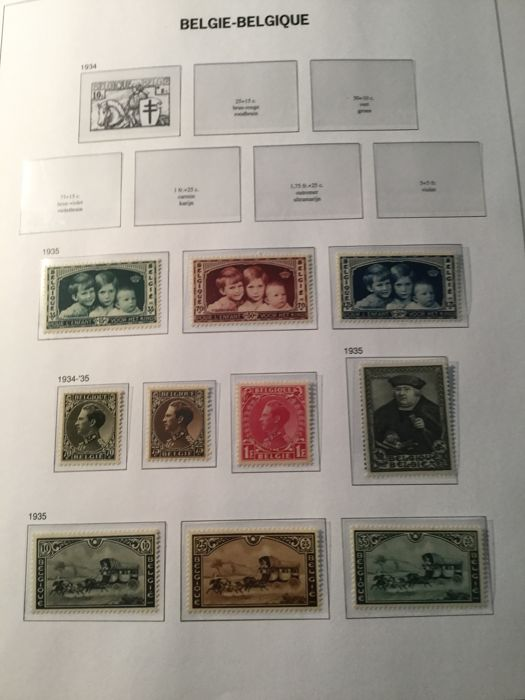 België 1935/1970 - Complete collection stamps