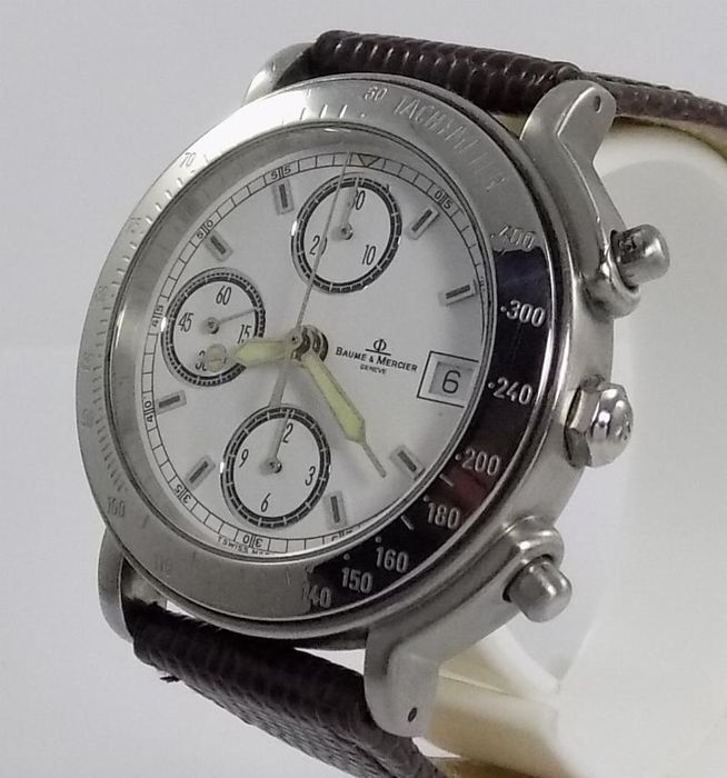 Baume & Mercier - Formula S - Luxury Chronograph - MV04FO23 - Heren - 2000's