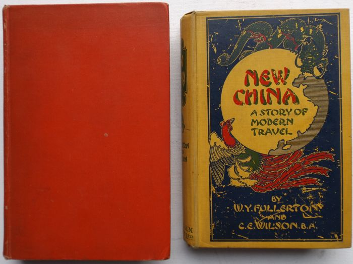 Fullerton, Wilson, Teichman - Lot of two books about China - 1910/1938