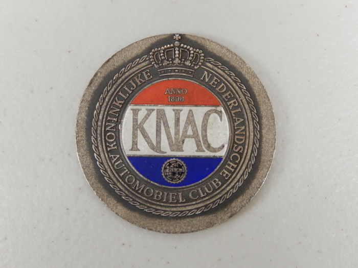 Badge - Dutch KNAC Participant Event Coin Medallion