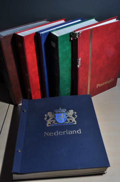 Netherlands 1852/2004 - Party in stock books