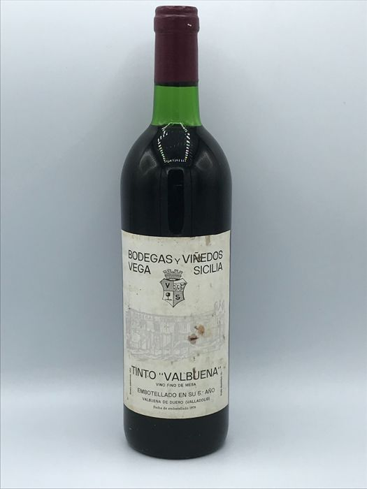 1979 Vega Sicilia Valbuena 5º - 1 Bottle 75cl