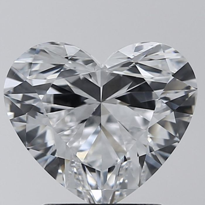 Heart Brilliant 1.81ct D VS2 GIA- original image -10x #7286441268