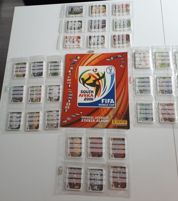 Panini - World Cup 2010 - Album Empty + Complete loose set
