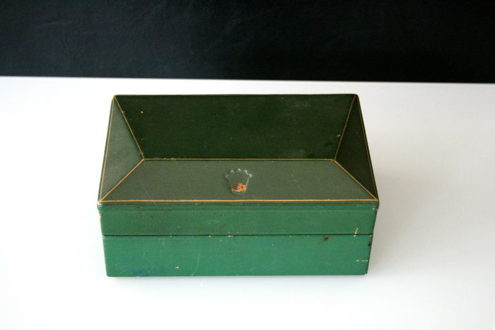 Rolex - Vintage Large Datejust Coffin Box - Brevet  - 247509 - Heren - 1950-1959