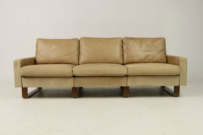 Friedrich-Wilhelm Möller for COR - 3-seat sofa model \'Conseta\' in cognac  leather - Catawiki