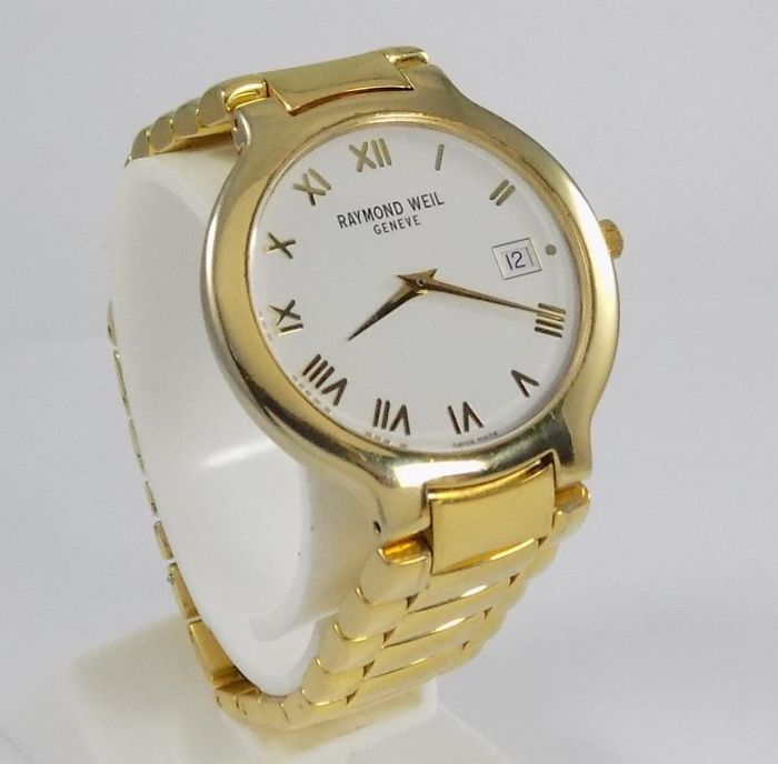 Raymond Weil - Chorus - Full Gold Plated - Dress - 5592 - Men - 2000's