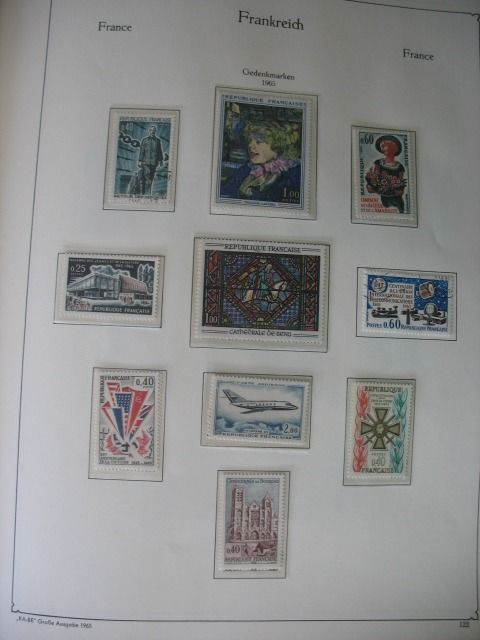 France 1965/1978 - Stamp collection