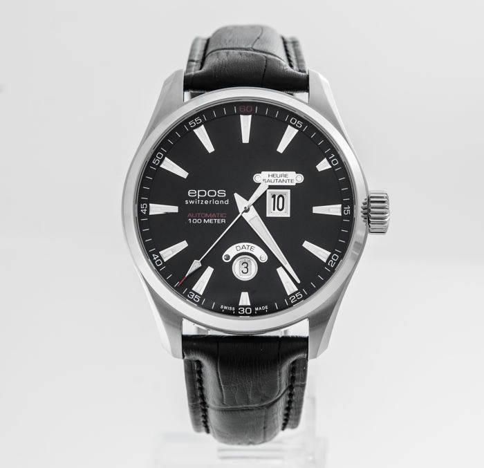 Epos - Jumping Hour Automatic 43mm - 3405/F-BLK - Men - 2011-present