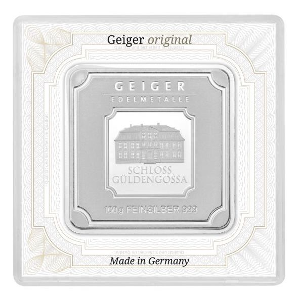 Geiger - 100 g - 999.9 - Minted - Sealed