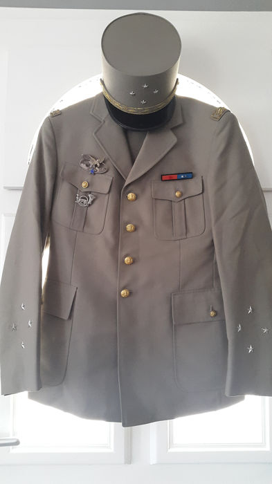 France - Uniform of 4-star General of army corps 1992