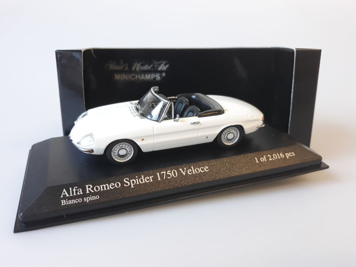 MiniChamps - 1:43 - Alfa Romeo Spider 1750 Veloce 1968 - Limited Edition of 2.016 pcs.