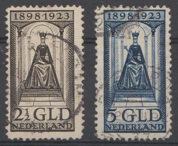 Netherlands 1923 - Government - NVPH 130 + 131
