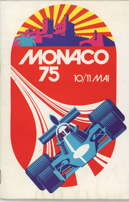 programme - 1975 Monaco grand prix programme.  (1 items)