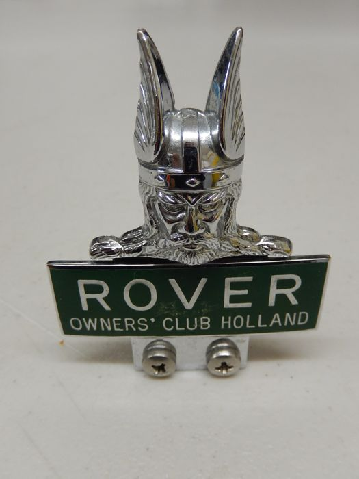 Insigne - Rover Enamel Owners Club Holland Car Badge