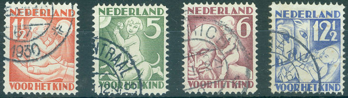 Netherlands - Children's and summer stamps