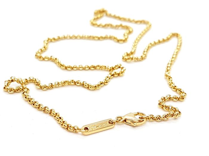 Chopard - Necklace - Belcher chain - 18 kt yellow gold - Length: 42 cm