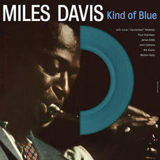 Lots Off 4 Miles Davis Albums All on 180 Grams Vinyl, Kind Of Blue Color Blue, Birth Of The Cool Color White, Lift To The Scaffold - Original Soundtrack, Diggin' With The Miles Davis Sextet
