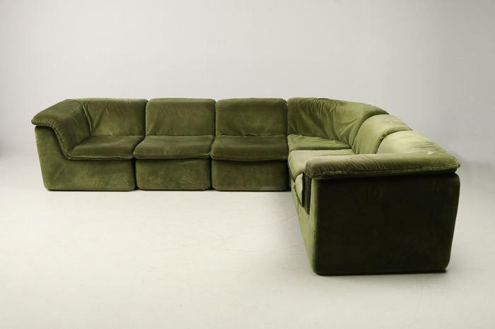 producer unknown large modular sofa