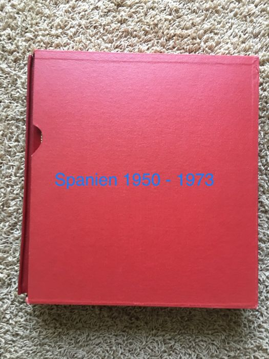 Spain 1950/1973 - Almost complete collection in EDIFIL album with