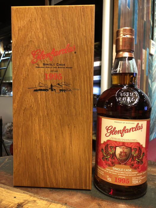 Glenfarclas 1995 Single Cask Strength Phoenix Series Limited Edition