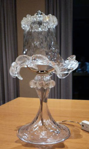 Murano (not attributed) - Table lamp from the 1950s