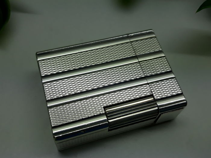 S.T. Dupont Silver striped Mini