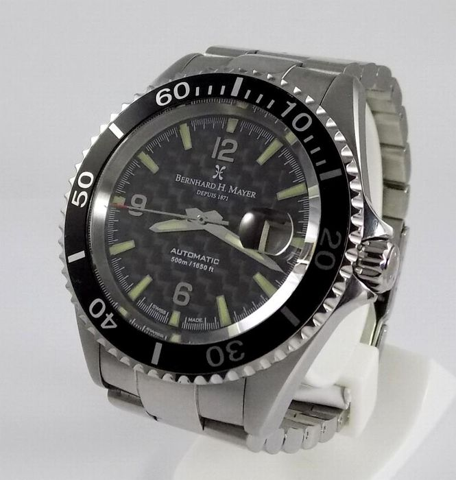 Bernhard H. Mayer - Nauticus - Limited Edition - 500M Diver  - 41702 - Men - 2000's