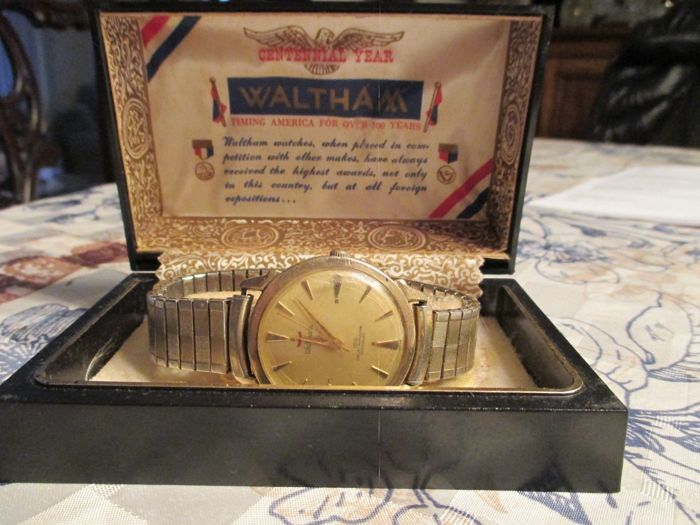Waltham - 100 Jewels Centennial Automatic 10K.G.F.-ROSS - Heren - 1950-1959