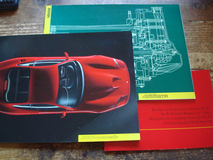 Brochures/ Catalogues - Ferrari 550M en 456GTA (3 items)