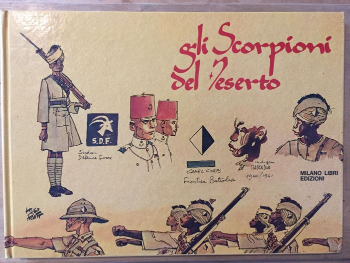 Gli Scorpioni del Deserto - 3x volumi - Hardcover - First Edition - (1975/1981)