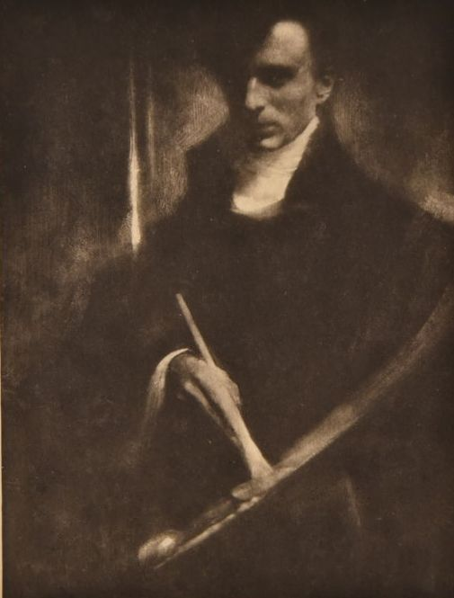 Edward Steichen (1879-1973)  - Self Portrait, 1902