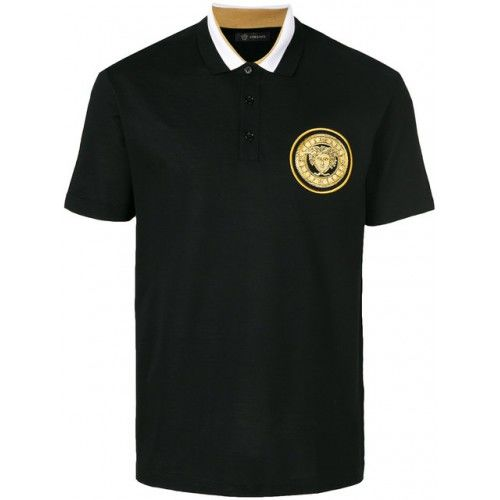 Versace - MEDUSA BADGE POLO SHIRT