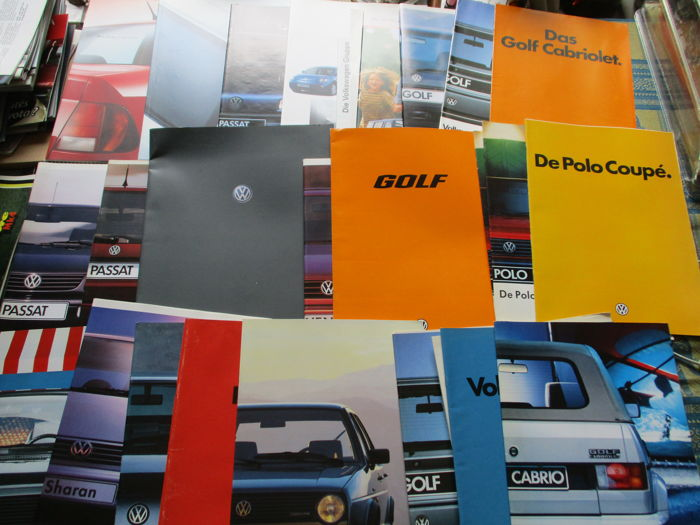 Brochures/ Catalogues - Volkswagen - 1974-2000 (28 items)