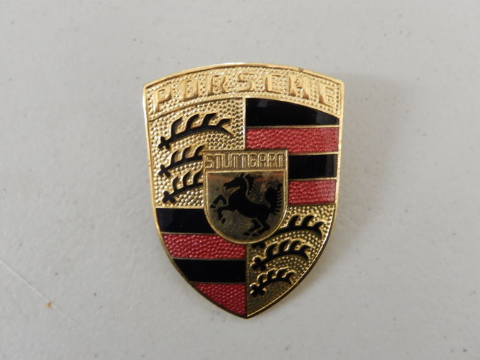 Insigne - Genuine Porsche 911 Bonnet Hood Badge