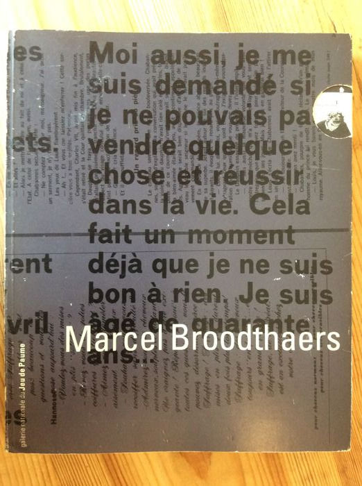 Chatherine David, Véronique Dabin - Marcel Broodthaers - 1991