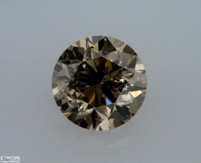 1.50 Carat Natural Fancy Brown SI2 Round Brilliant  - Very Low Reserve!