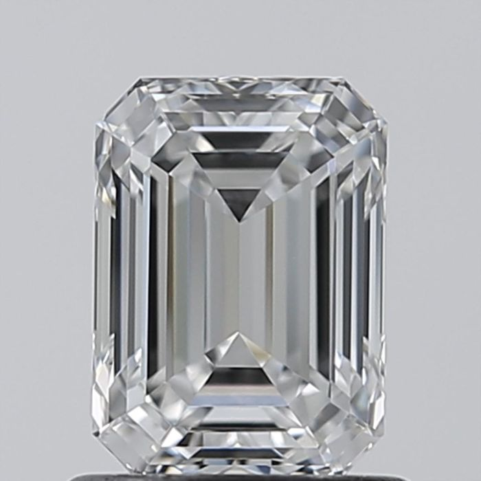 Emerald Cut 1.01ct D VVS2 GIA- original image -10x #2195233884