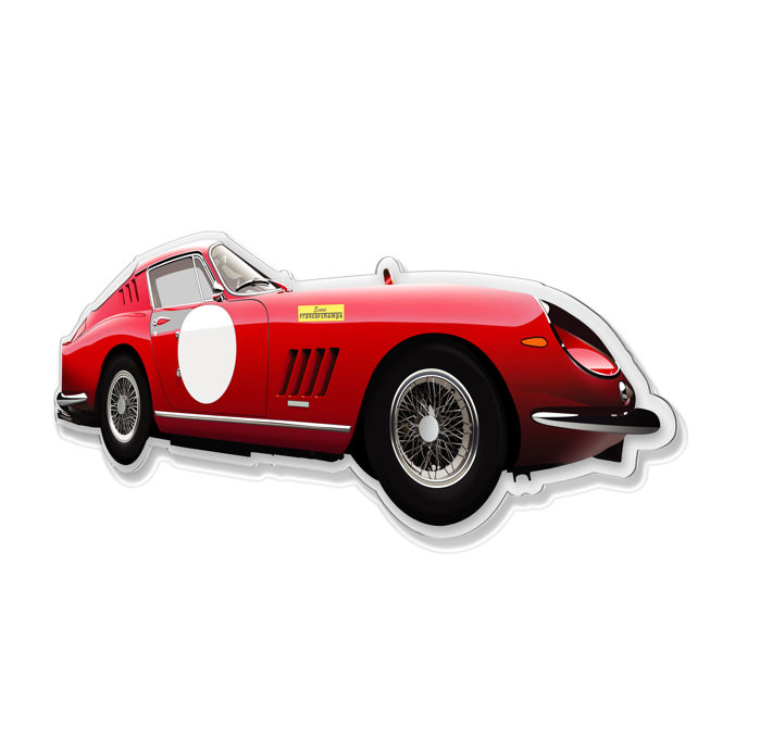 Decoratief object - SL-Halmo Collection Ferrari 275 GTB